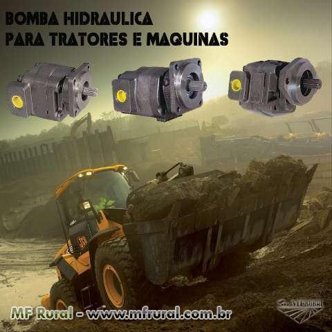 Bomba Hidráulica Para Tratores / Retro Esc. / Pá Carregadeira / Perfuratriz