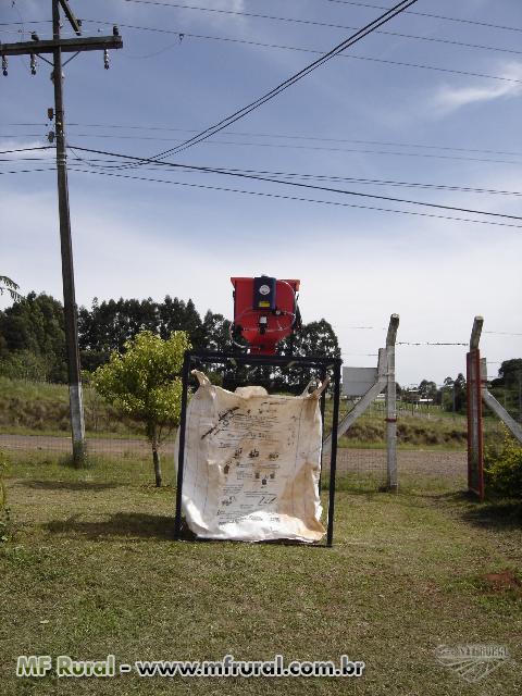 Máquina de inocular sementes