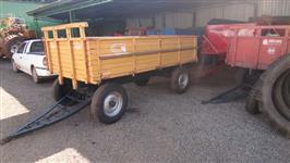 Carreta Agricola 4 rodas IMPLEMIS cap. 4 ton