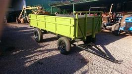 Carreta Agrícola 4 rodas cap 4 ton