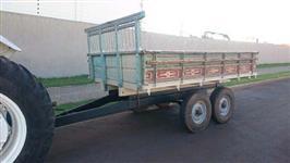 Carreta 4 rodas Tandem cap 4 ton