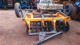 Grade Aradora 20 discos com pneus transporte TATU