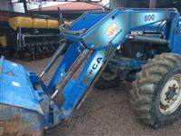 Conjunto de Concha para New Holland 4x4 TATU PCA 800