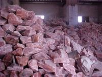 Sal rosa do Himalaia bloco cristal