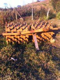 rolo compactador pe de carneiro rebócavel
