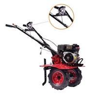 Motocultivador à Gasolina 3 x 1 com 90cm Largura Motor 6,5Hp com Rodas - TT90