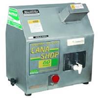 """Moenda de cana """"CANA SHOP 60"""" 3 rolos e eixos de ferro 220 V"""