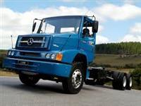 Caminhão  Mercedes Benz (MB) 1620 carroceria trucado  passo   ano 10