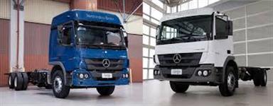 Caminh�o Mercedes Benz (MB) MB1729 estado de zero presta��o 1.450,00 sem juro ano 13