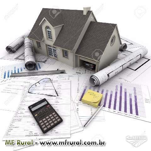 Credito p/ casas, fazenda, lotes, sítios. Opção para capital de giro.