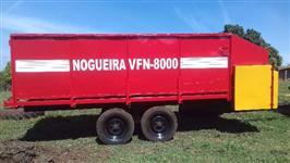 Vagão forrageiro Nogueira 8000