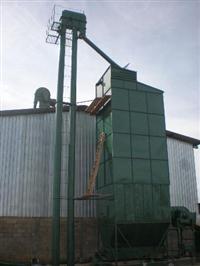 Secador de cafe modelo vertical com cap:180-220-260 sacos