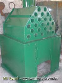 fornalha metalica para secador de cereais
