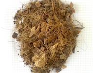 Fibra de coco, pó de coco e substrato para orquídea