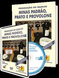 Curso Produção de Queijo Minas Padrão, Prato e Provolone