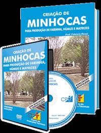 Curso Criação de Minhocas para Produção de Farinha, Húmus e Matrizes