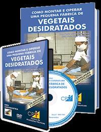 Curso Como Montar e Operar uma Pequena Fábrica de Vegetais Desidratados