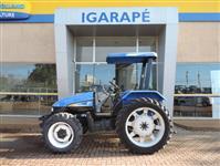 Trator New Holland TL 60 E 4x4 ano 09