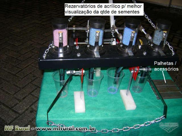 Semeadeira para hortaliças Semi-automática (Manual)