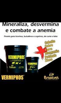 Vermiphos vermifugo de cocho anti-anêmico