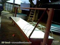 Galpão de Aviário ( Granja ) totalmente metálico