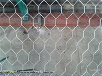 "Tela hexagonal 2"" GALINHEIRO - fio 18 (1,24mm)"