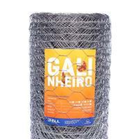 Telas Hexagonais para mangueirão e galinheiro a partir de R$ 270,00 o rolo de 25m.