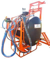 Pulverizador 1.000 litros Barra Hidraulica AM 12 ou 14
