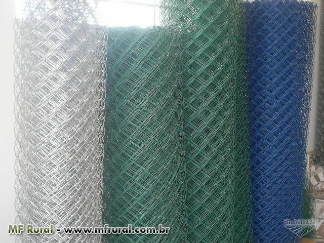 Alambrados galvanizados tubos galvanizados telas em for Tela para muro verde