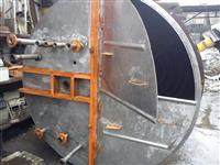 Tanque misturador em aço  inox   8000 Ltrs