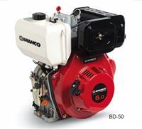 Motor BD-5.0 C.V - Branco - Diesel - Partida manual/elétrica