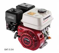 Motor B4T-5.5H - Branco - Gasolina - Partida manual com/sem filtro de ar