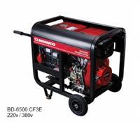 Gerador - Branco - Diesel - 4.5 KVA - Partida elétrica - Trifásico 220V/380V