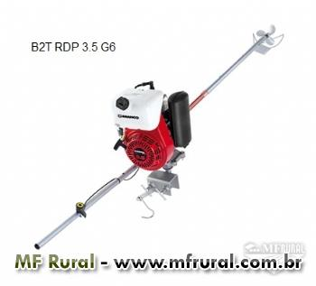 Motor B2T 3.5 HP G6 - RDP especial - Branco com rabeta curta/longa