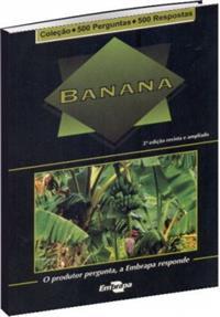 Livro Coleção 500 Perguntas 500 Respostas: Banana - 2ª Edição