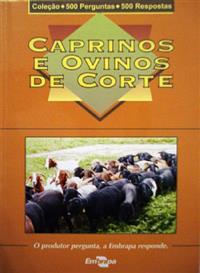 Livro Coleção 500 Perguntas 500 Respostas: Caprinos e Ovinos de Corte