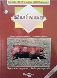 Livro Coleção 500 Perguntas 500 Respostas: Suínos - 2ª Edição