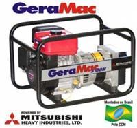Gerador Geramac M 3100-M - 3.100 W Gasolina /Bivolt