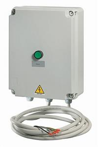 Painel de controle de nivel do vaso terminal