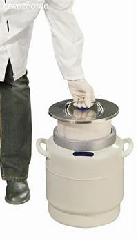 Botijão Cryofarm YDS-5-200 - Sem caneca