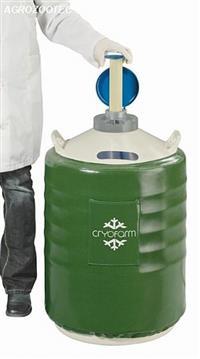 Botijão Cryofarm YDS-50 - Transporte de Nitrogênio - Sem canecas