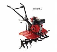 Motocultivador - BD-5.0 CV - Branco - Tratorito - Diesel - Partida manual
