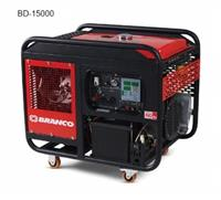 Gerador - 14.0 KVA - Branco - Diesel - Trifásico 220V / 380V - Partida eletrica