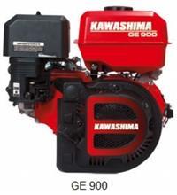 Motor Kawashima GE 900 - 9 HP - Gasolina - Partida manual/elétrica