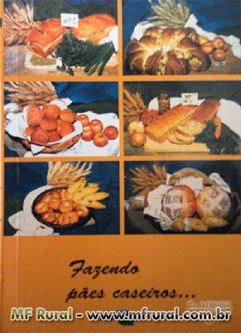 Livro Fazendo pães caseiros