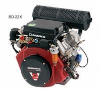Motor BD-22.0 - Branco - Diesel - Partida elétrica