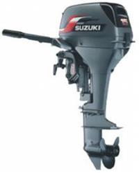 Motor de Popa Suzuki DT 15S - Gasolina - partida manual