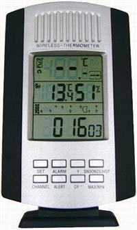 Termômetro Digital - Walmur - Externo/Interno Multifuncional - Sem fio