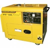 Gerador Buffalo BFDE 6500 Silencioso - Diesel/Part.Elétrica Mono ou Trifásico