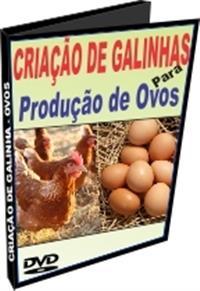 Criação de Galinhas para a Produção de Ovos - DVD